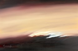Grinsted by Lynne Timmington - Original Painting on Box Canvas sized 36x24 inches. Available from Whitewall Galleries